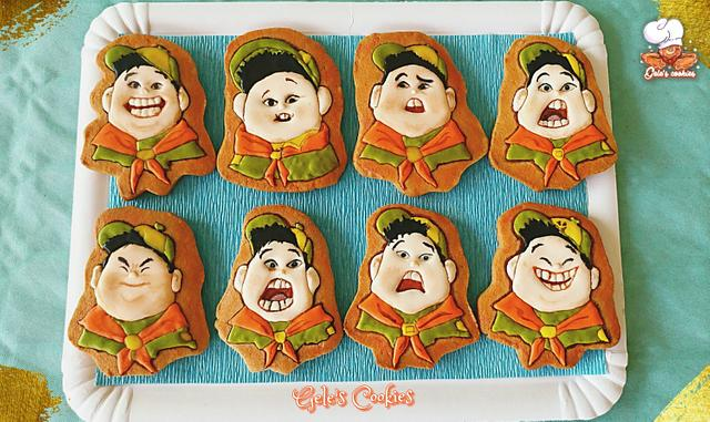 """Russell face expressions from """"Up movie"""""""