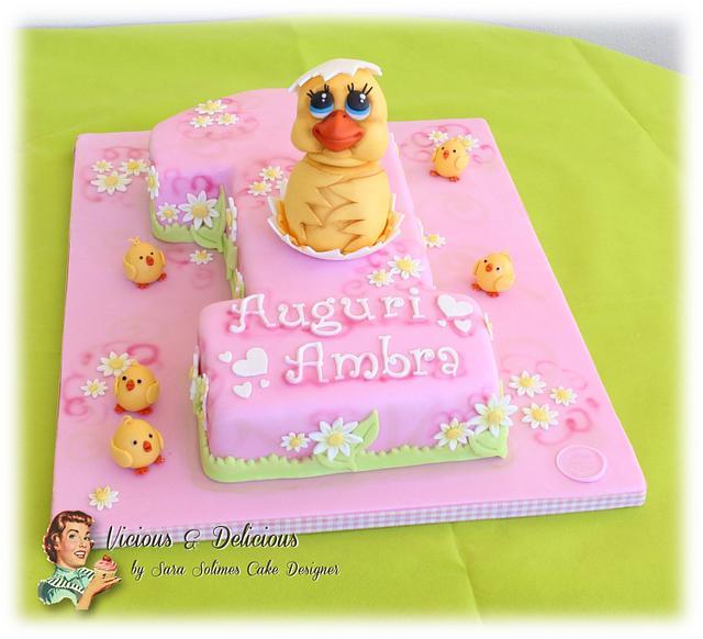 Ambra's 1st cake