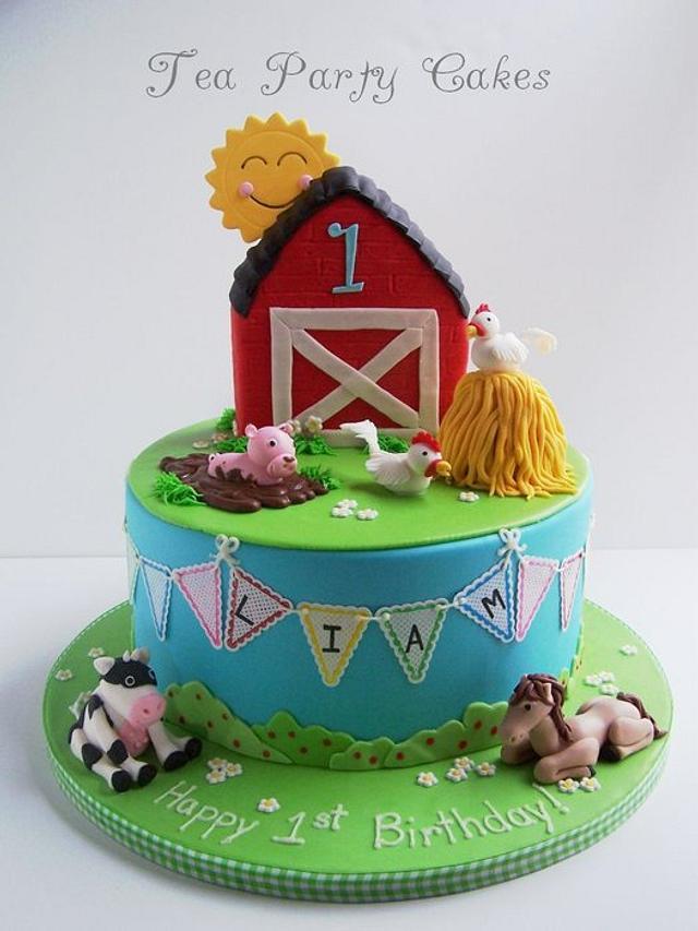 Liam's Farm Cake