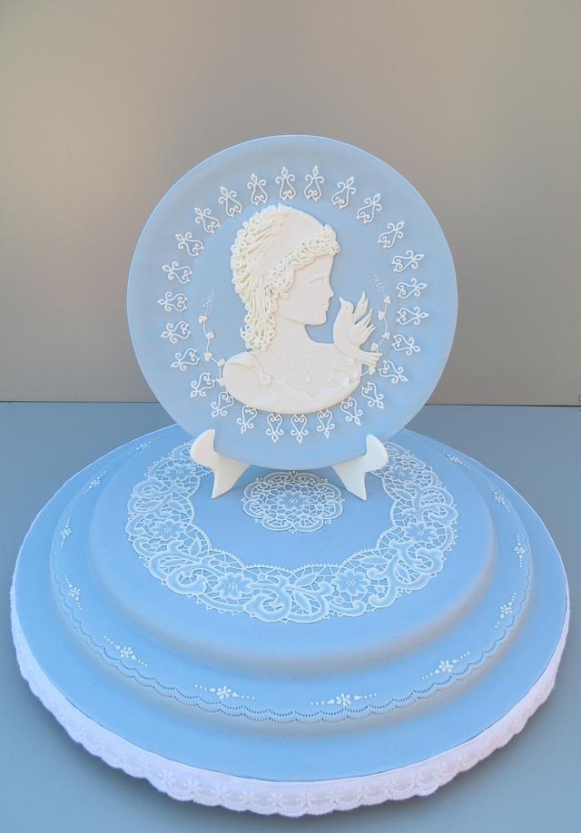Wedgwood Blue Plate