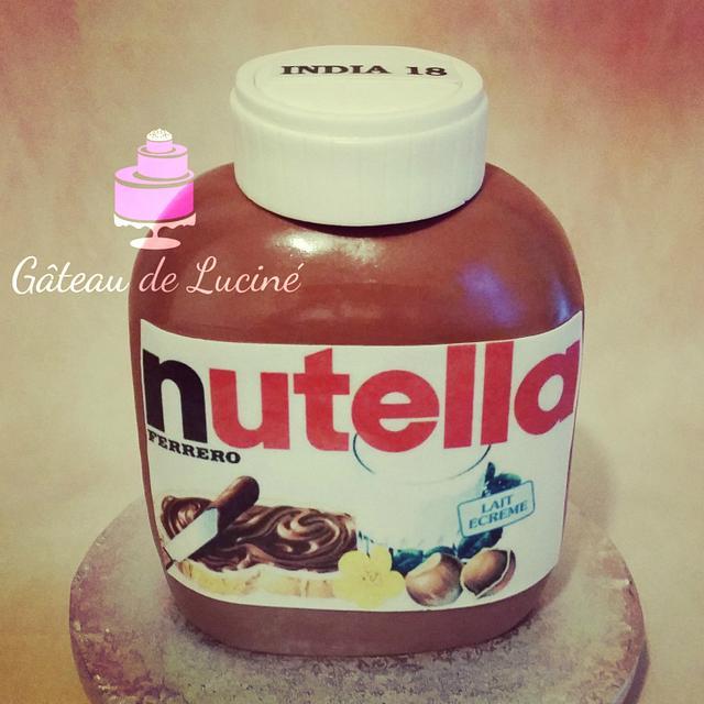 Nutella bottle