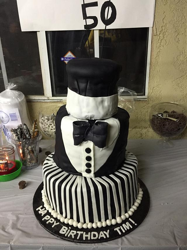 This is my first 3 tier cakes.