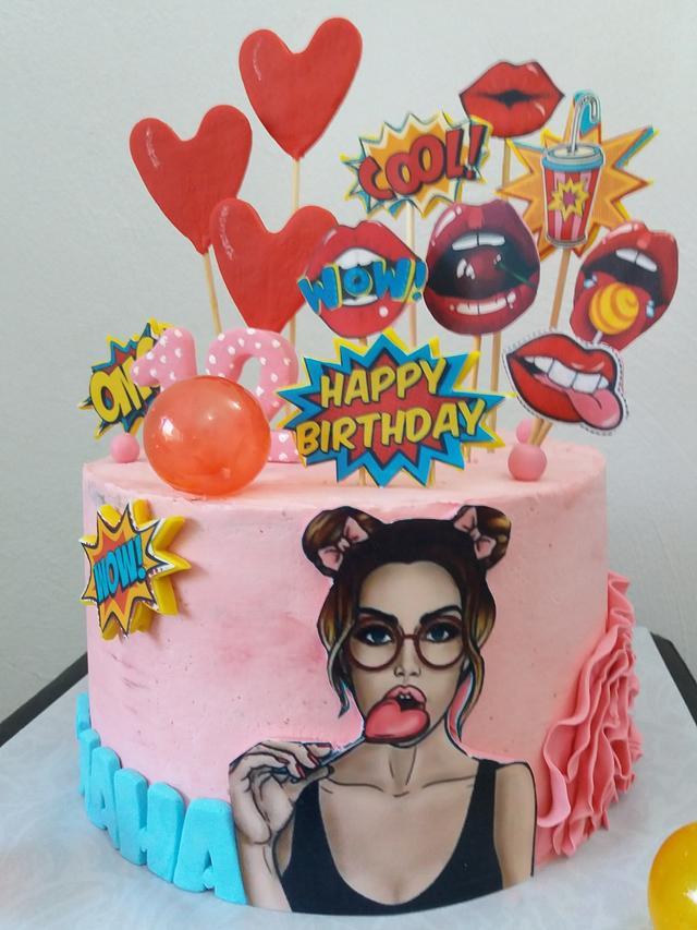 GIRL CAKE - SIANA