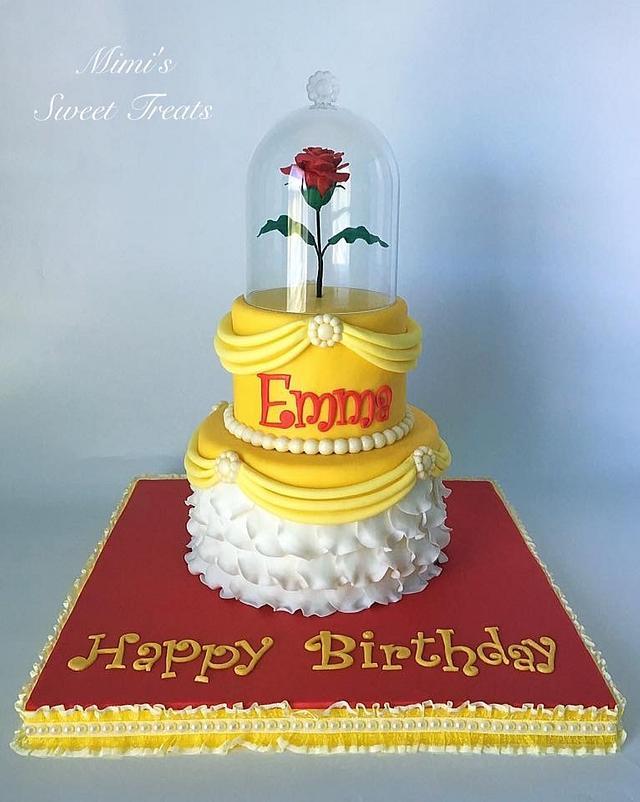 Disney Princess Belle Cake