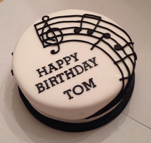 Astounding Music Cake Cake By Caron Eveleigh Cakesdecor Birthday Cards Printable Benkemecafe Filternl