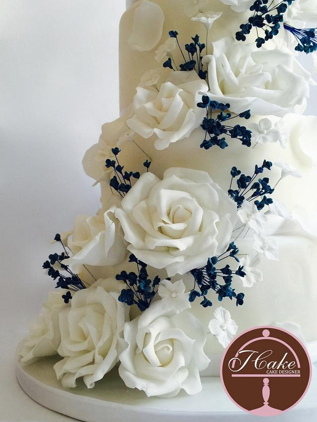 wedding cake double-sided