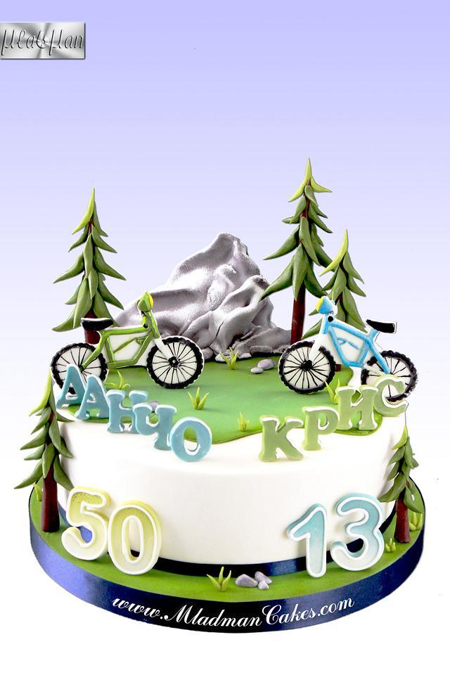 Daddy & Son - Bike Obsession Cake