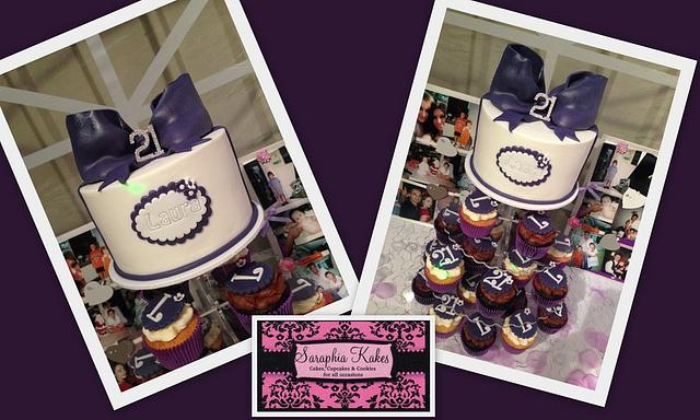 Purple 21st Birthday