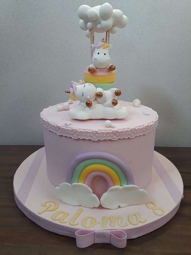 Torta unicornio!