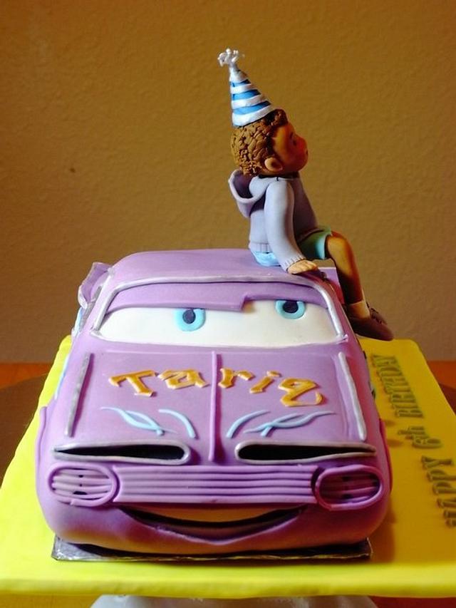 Cars Ramone Birthday Cake