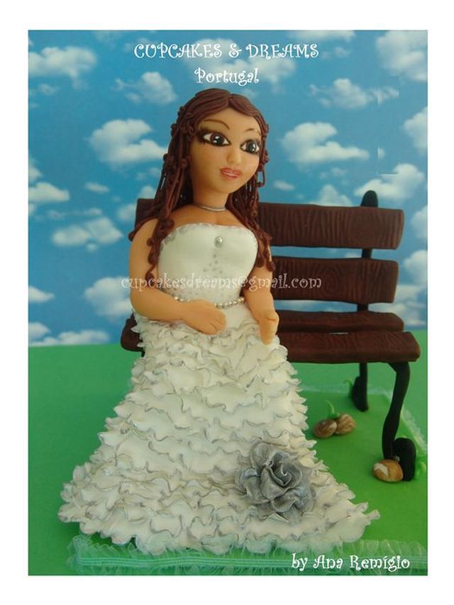 MY FIRST WEDDING TOPPER