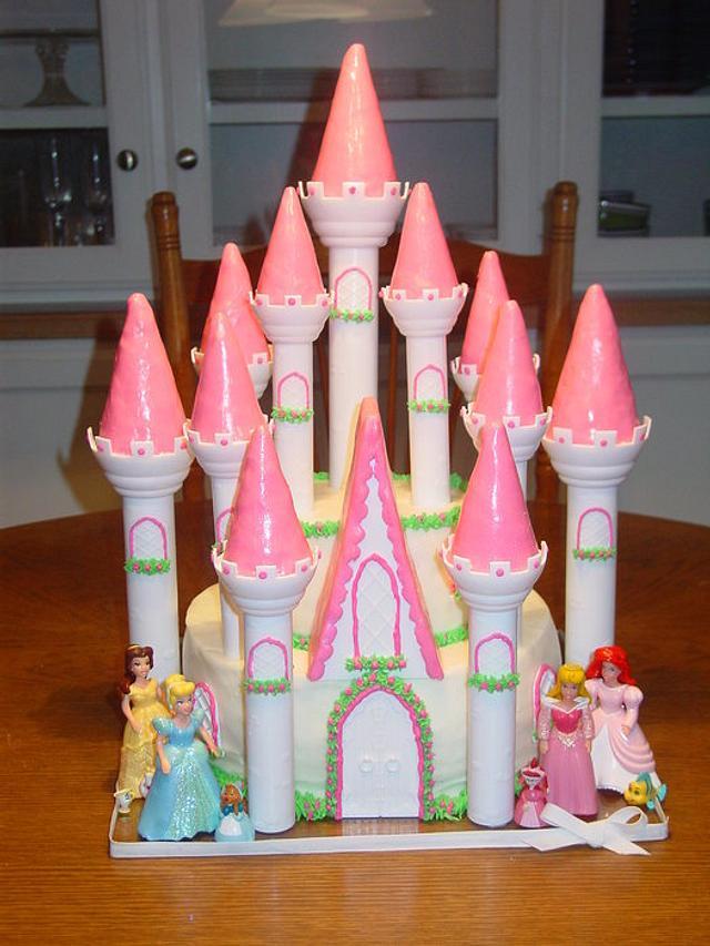 Princess Gretchen's Castle Cake