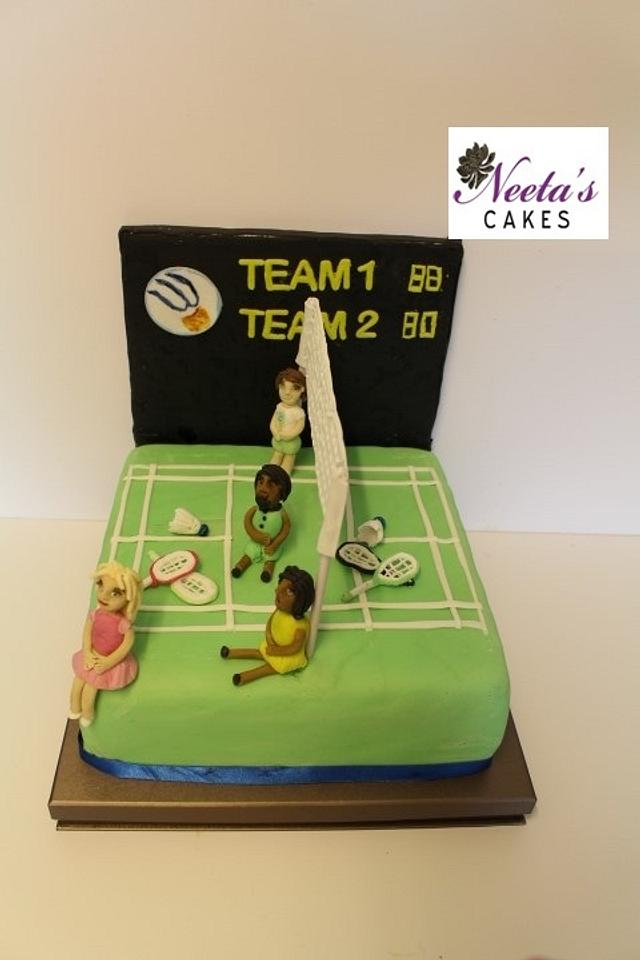 Badminton Sports Cakes for Peace