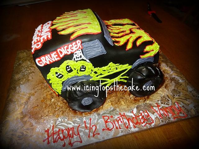 Grave Digger Cake