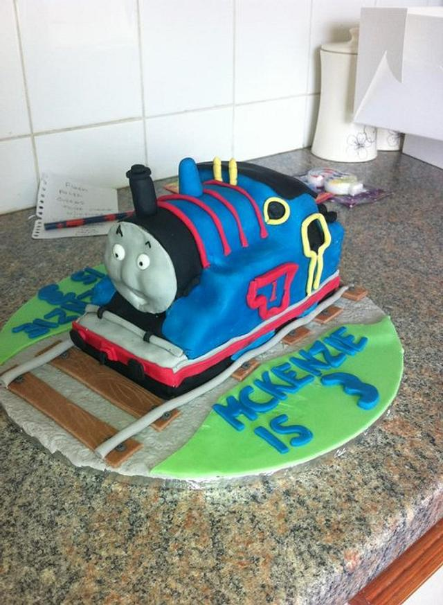 First Carved cake, Thomas The Tank
