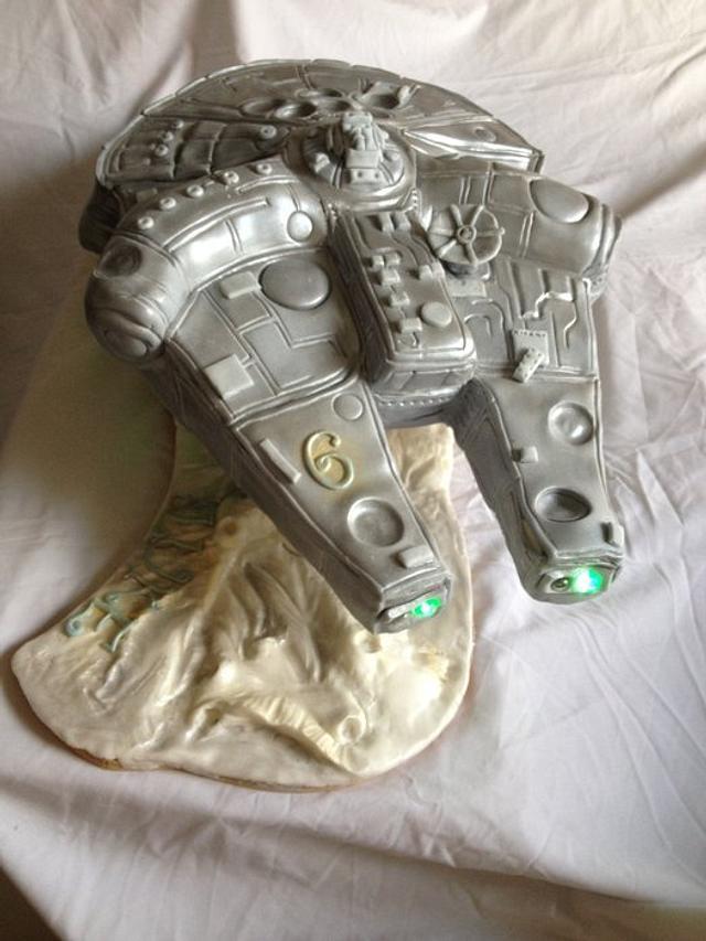 Millenium Falcon for Luke