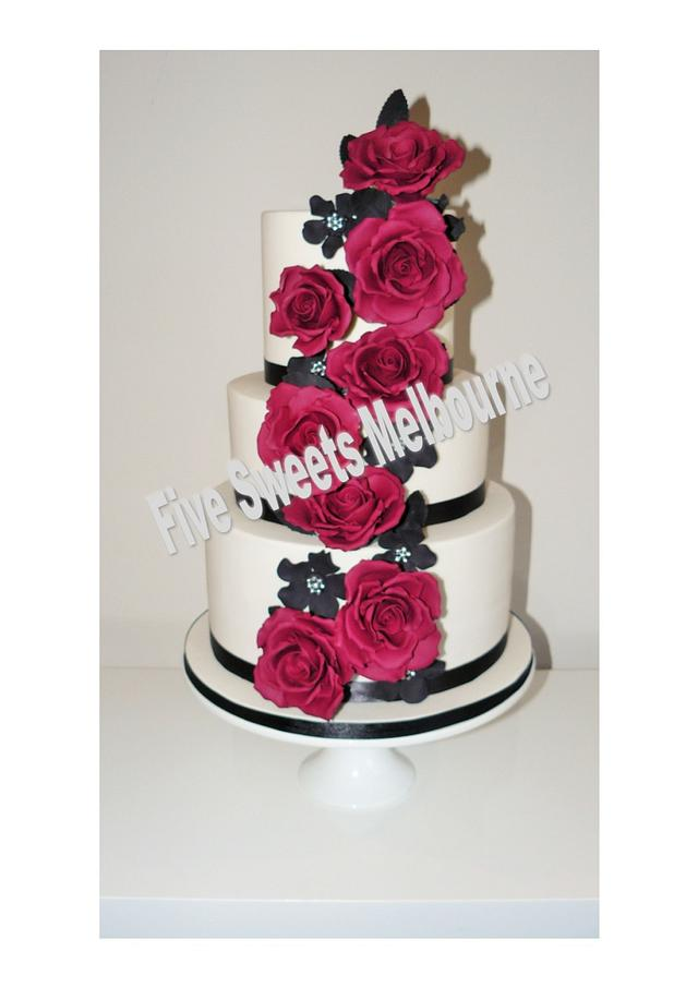 Wedding Cake - Sarah