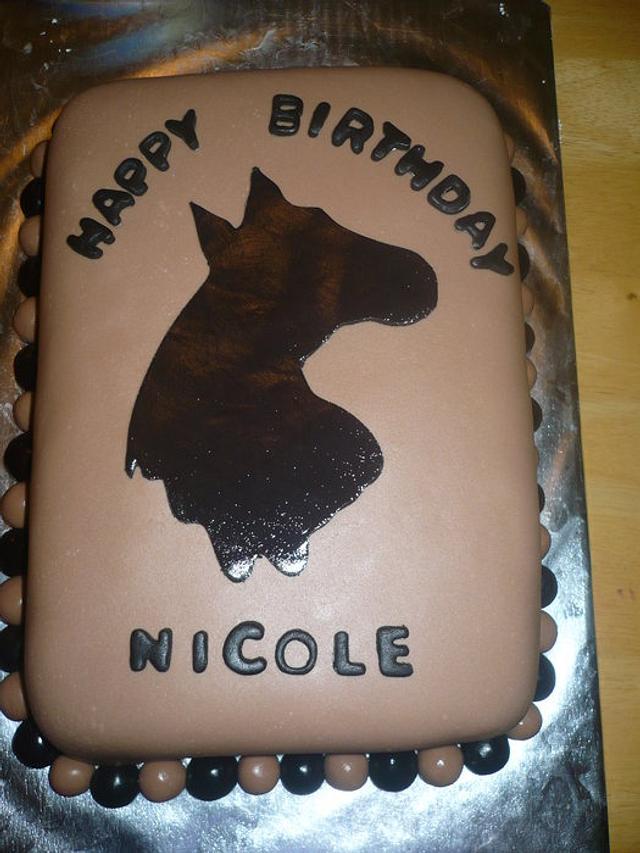 2nd fondant covered cake