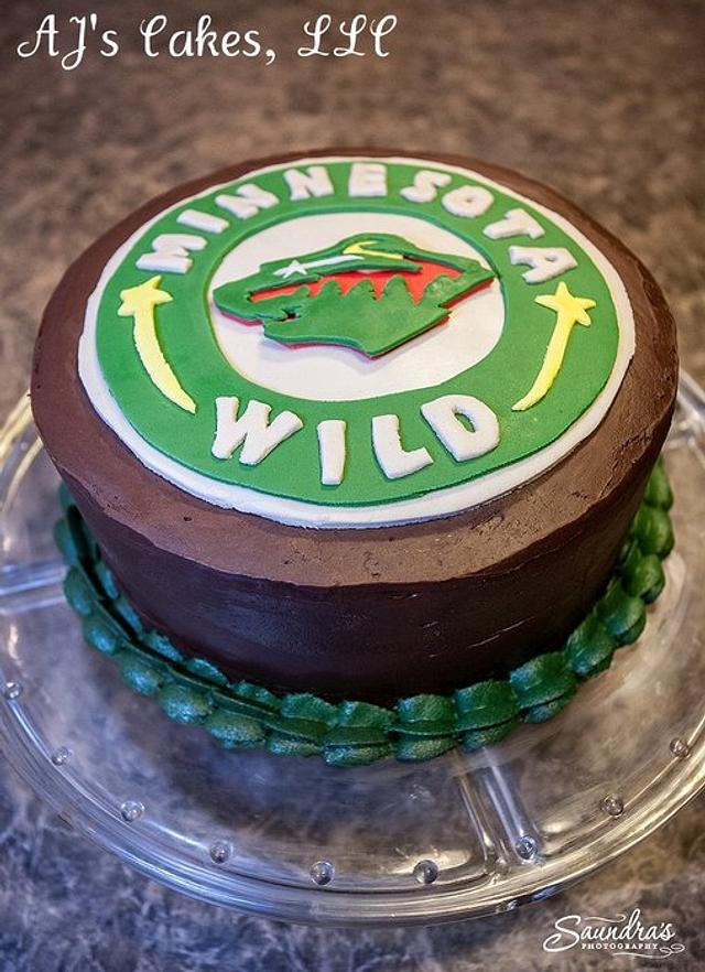 Minnesota Wild Cake