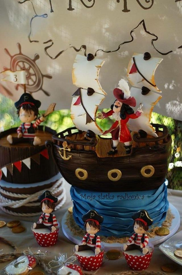 Pirate sweet table