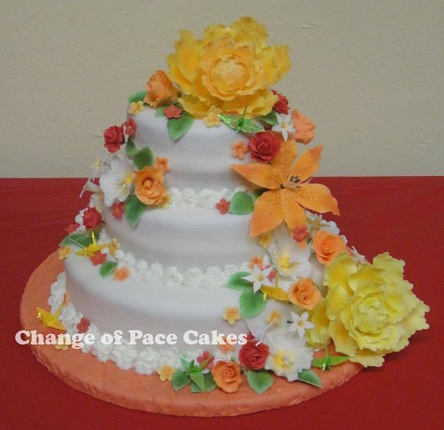Paper Crane Studio's Grand Opening Party Cake