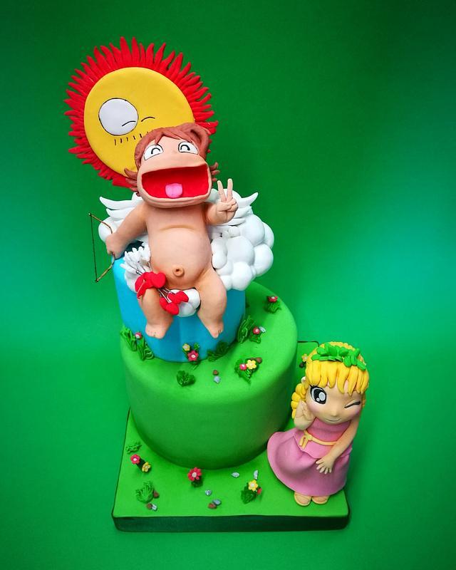 Pollon&Eros cake!