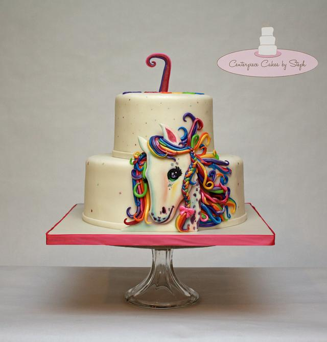 Super 1St Cake After Surgery Lisa Frank Cake By Centerpiece Cakesdecor Funny Birthday Cards Online Alyptdamsfinfo