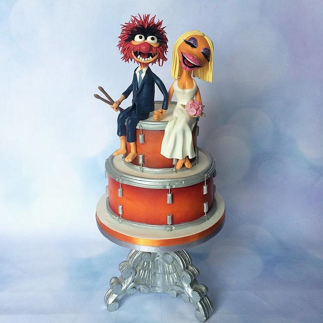 Animal & Janice from the muppets