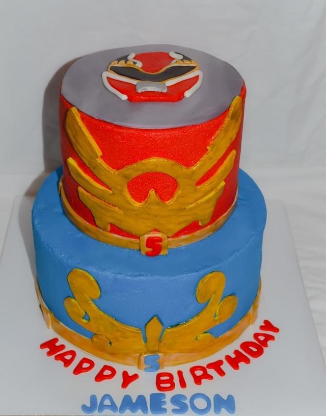 Outstanding Power Rangers Megaforce Cake By Ritas Cakes Cakesdecor Funny Birthday Cards Online Inifodamsfinfo