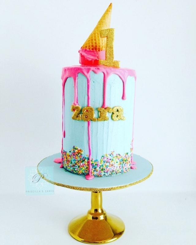 Zara's birthday cake