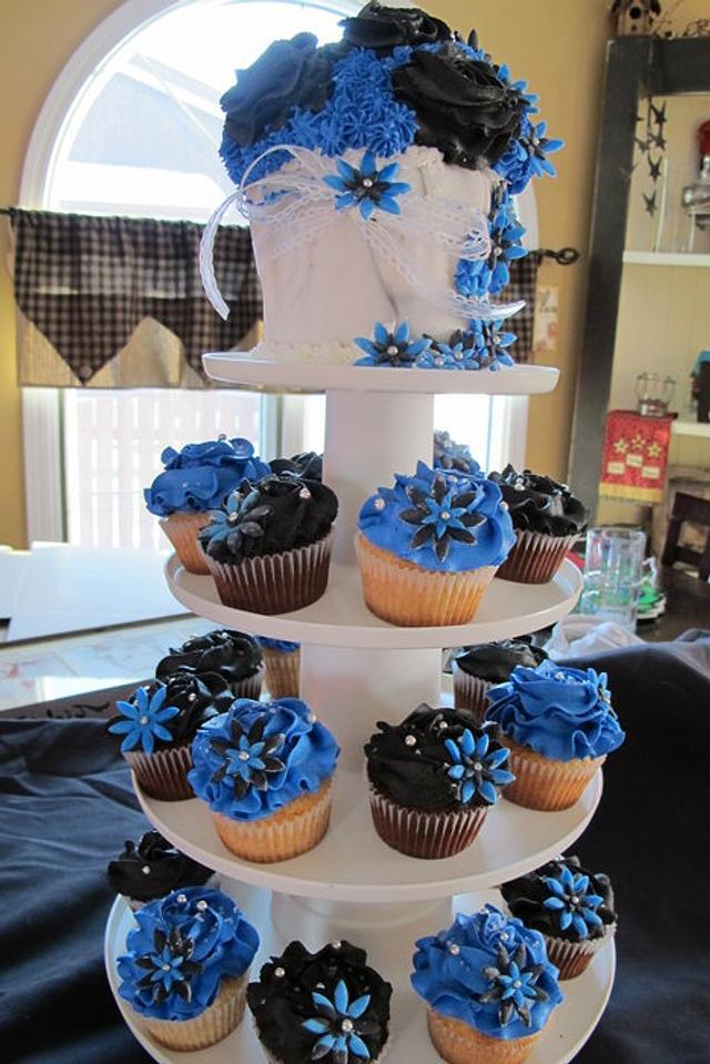 Today's Birthday Cupcakes