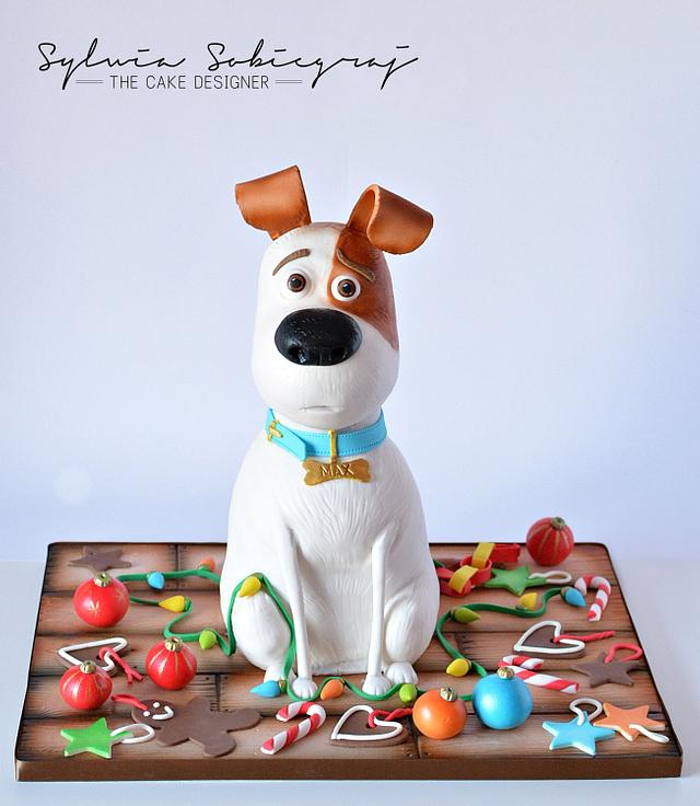 Remarkable The Secret Life Of Pets Birthday Cake Cake By Sylwia Cakesdecor Funny Birthday Cards Online Overcheapnameinfo