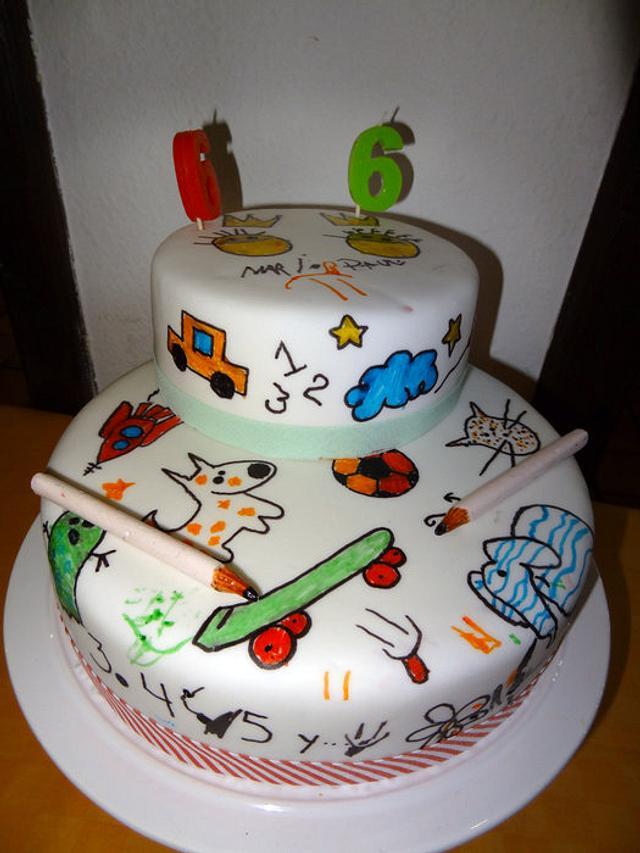 Interactive Cake