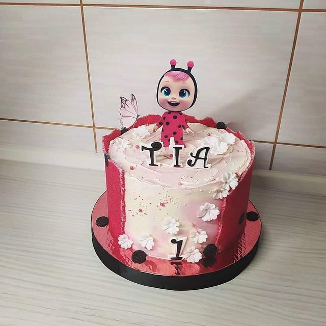 Cry baby sugar sheets cake