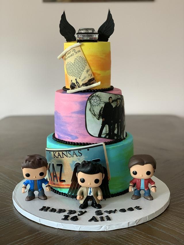 Supernaturals Cake