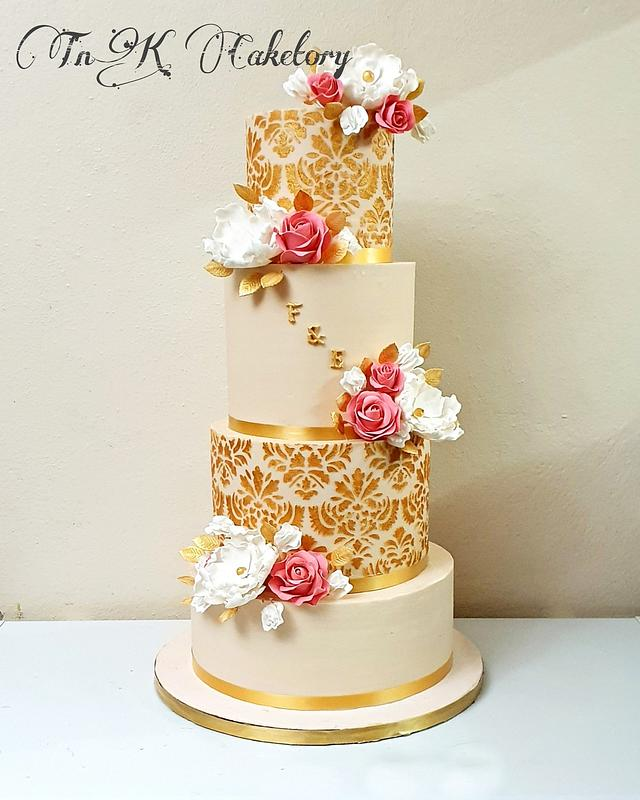 The most recent wedding cake