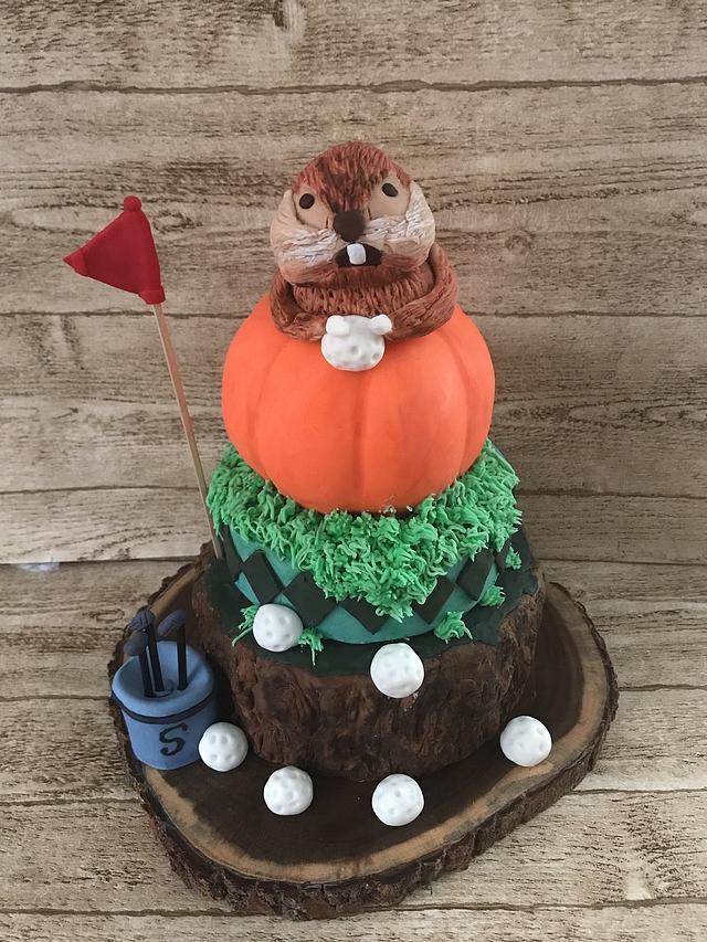 Caddyshack Birthday Cake