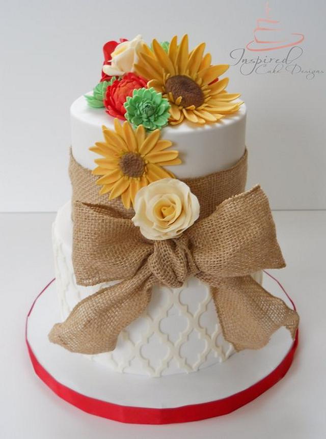 Fall Birthday Cake