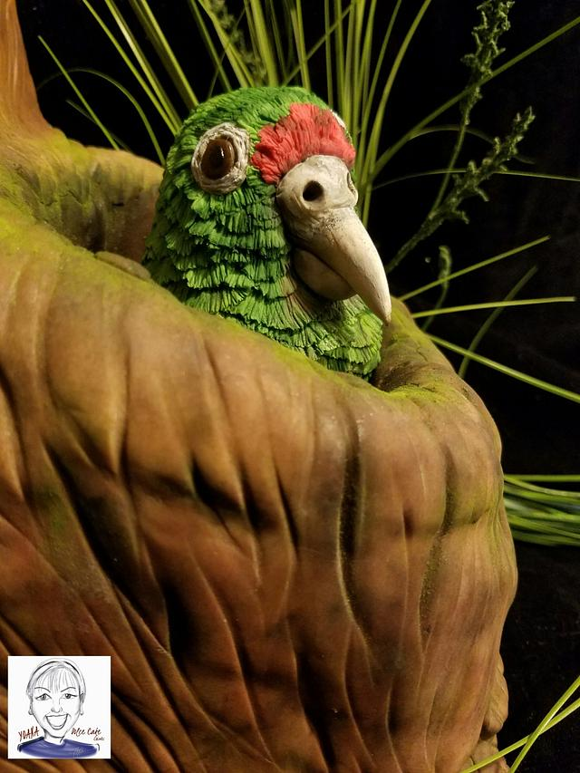 Animal Rights Collaboration -  Puertorrican Parrot