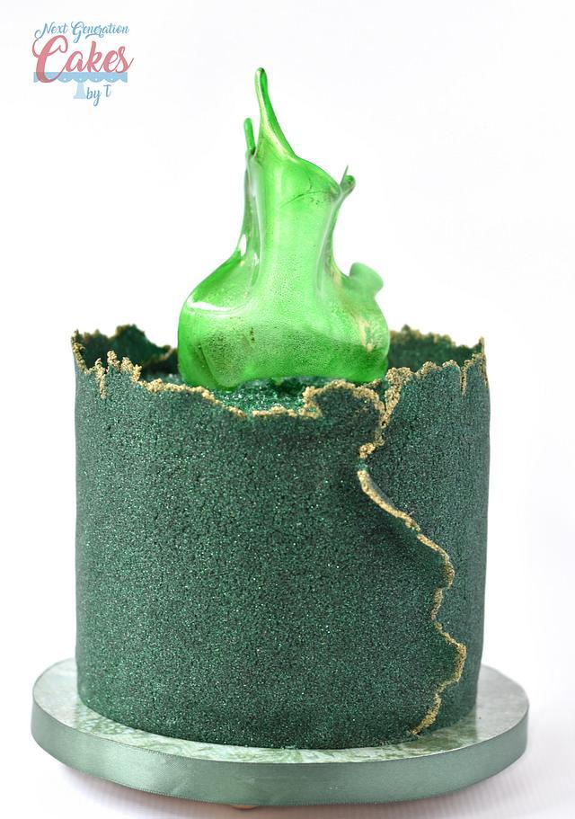 Sugar Sheet Birthday Cake