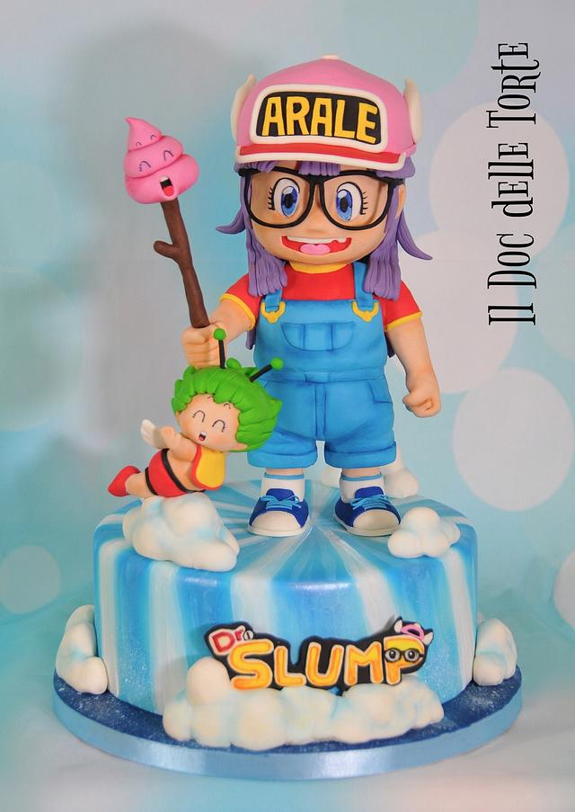 Arale & Dr Slump - Sugar Artist League 80's Cartoon Collaboration