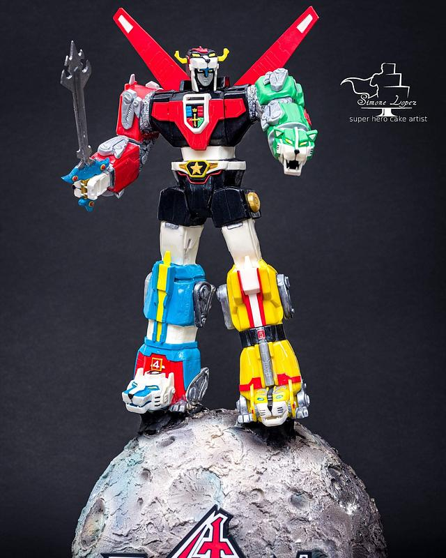 Voltron . For Sugar Artist League 80's cartoons Collaboration