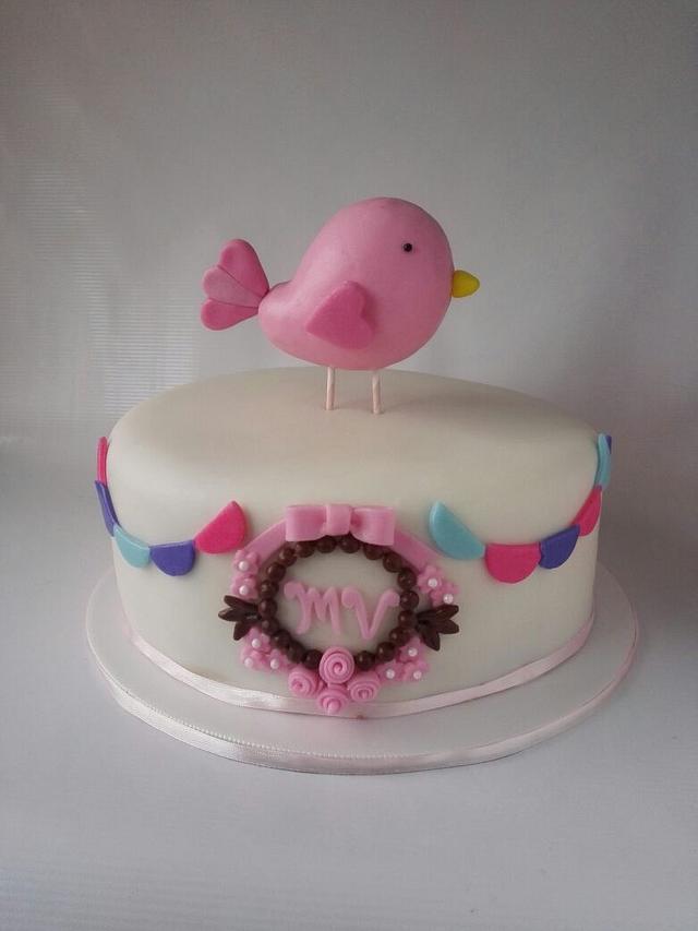 Little bird for a birthday
