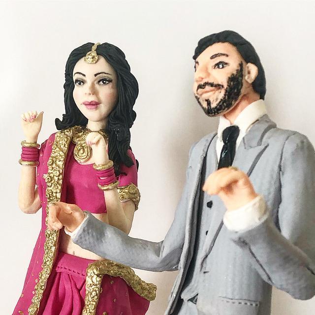 Dancing Couple - Wedding Cake!