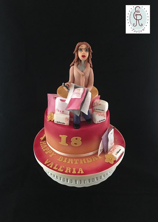 18 Birthday of a Shoppingqueen