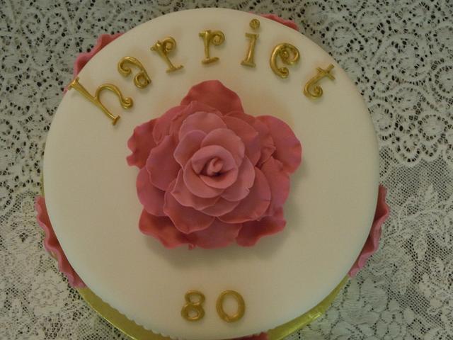 Cameo 80th birthday