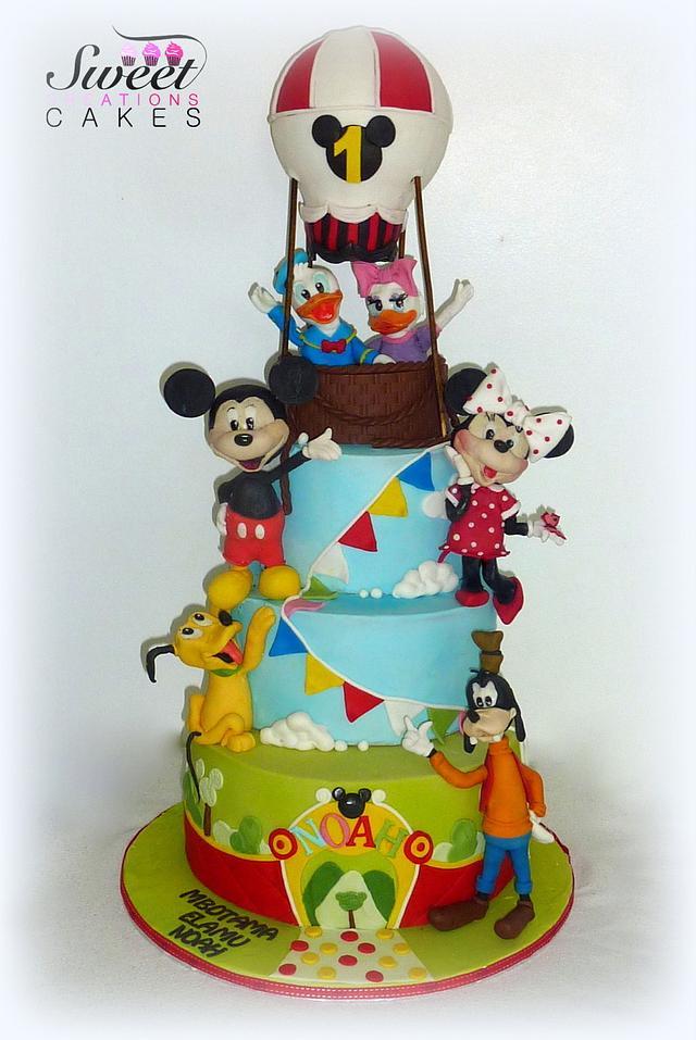 Astounding Mickey Mouse Clubhouse Birthday Cake Cake By Sweet Cakesdecor Personalised Birthday Cards Xaembasilily Jamesorg