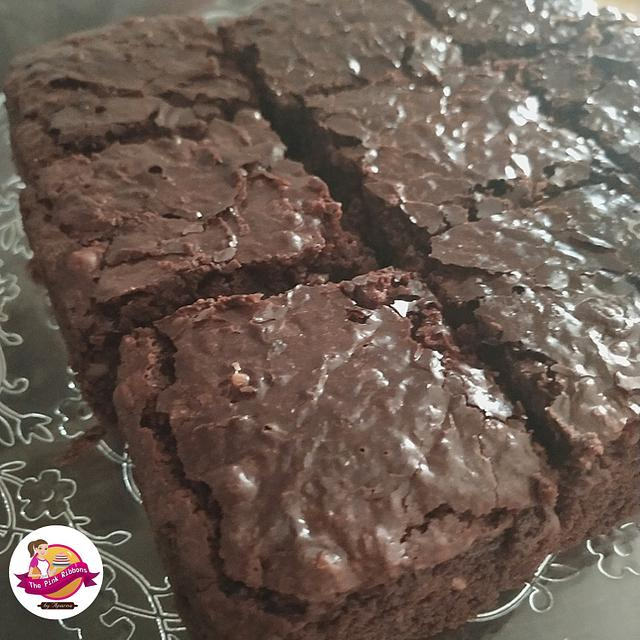 Whole wheat Eggless Brownies
