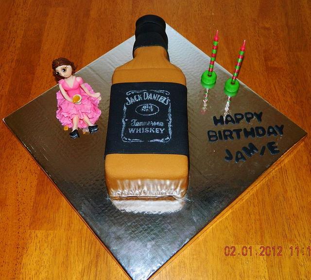 Jack Daniel Bottle