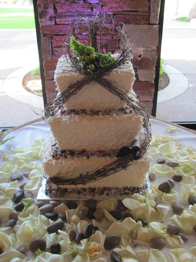 Oganic Branch Cake